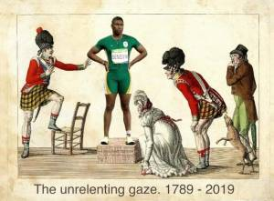 """The unrelenting gaze 1978-2019"", an image by South African art collective xcollektiv"