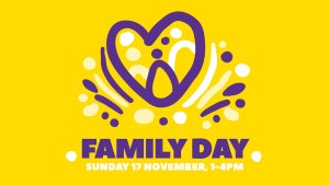 Family Day, Sunday 17 November, 1-4 PM