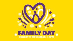 Family Day, Sunday 17 November, 1-4 PM