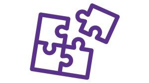 a four piece jigsaw, falling into place