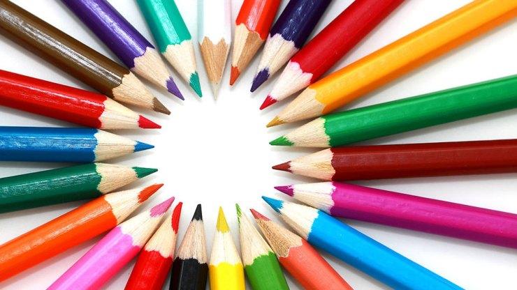 Coloured pencils, by Petr Kratochvil
