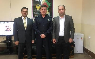 نوسینگهی مافی مرۆڤی سۆران سهردانی بهڕێوهبهری پۆلیسی سۆرانی کرد: