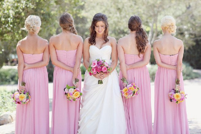 bridesmaids-wedding-party-pink-wedding-bridal-party-bridesmaids-dresses