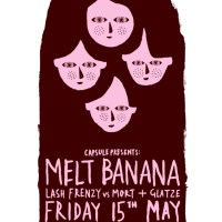 Melt-Banana - Tour Dates + Posters