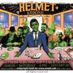 Helmet-Kepone On Tour + Posters - Helmet