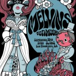 Melvins---San-Francisco-2010-Poster-by-Junko-Mizuno Melvins - 2010 North American Tour Dates + Posters