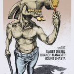 Hammerhead-Tour-Poster-by-Derek-Hess Stuff You Might've Missed / AmRep Revisited – Hammerhead