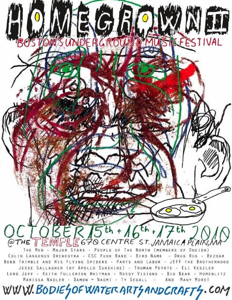 Homegrown2flyer Boston Events - Homegrown II: Boston's Underground Music Fest