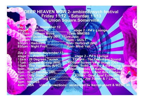 deepheaven2poster Deep Heaven Now 2 - Featuring Joe Turner & The Seven Levels + Mind Yeti