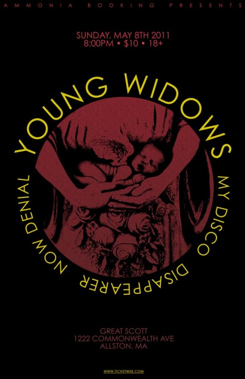 widows_WEB Show Review - Young Widows + My Disco + Now Denial + Disappearer at Great Scott (5.8.2011)