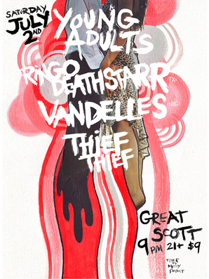 Young-Adults-Ringo-Deathstarr-Vandelles-Thief-Thief-at-Great-Scott
