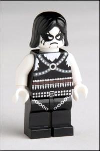 Lego Black Metal Figure