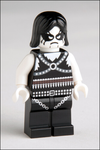 Lego Black Metal Figure