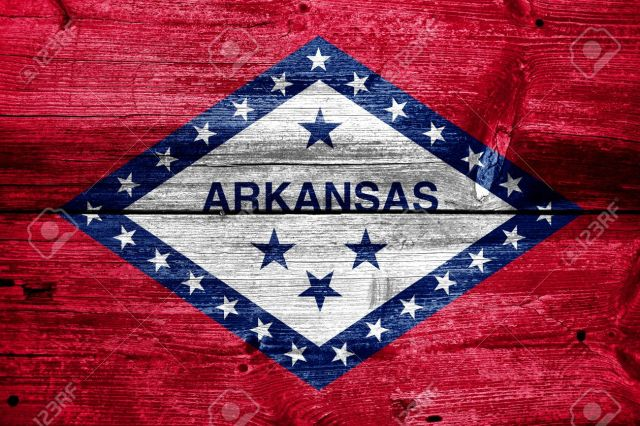 Arkansas-State-Flag Post-Independence Marathon - Arkansas