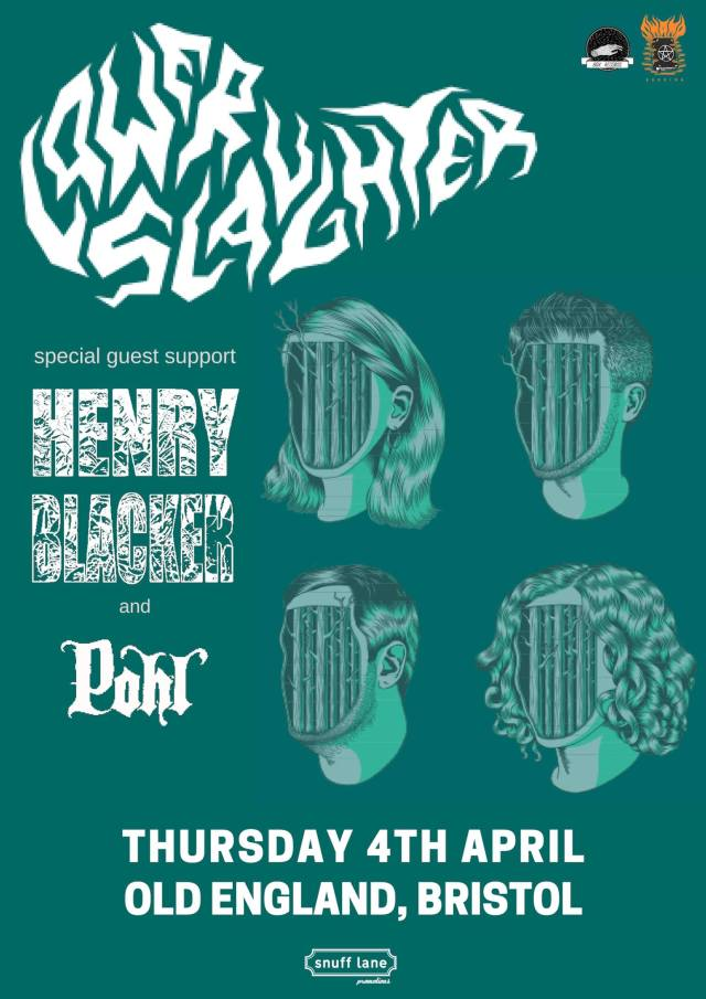 Lower-Slaughter-Henry-Blacker-Pohl-Show-Poster-724x1024 Show Review - Lower Slaughter / Henry Blacker / Pohl at The Old England Bristol