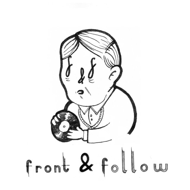 Front and Follow Record Label Logo