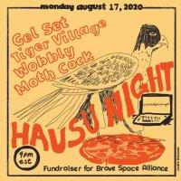 Hausu Mountain x Pizza Night Poster