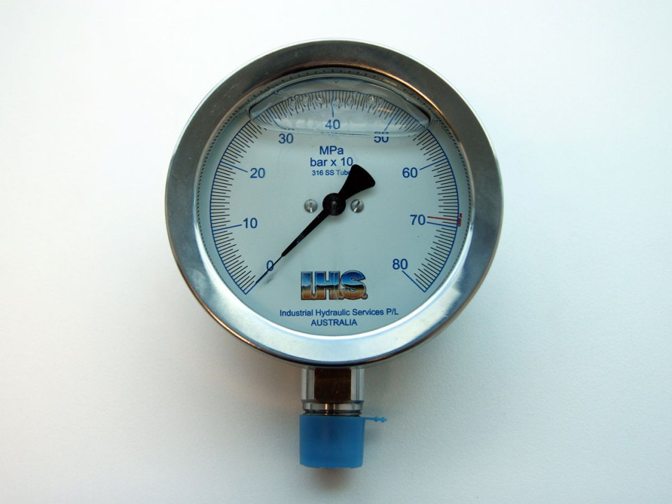 "IHS 2 1/2"" Analogue Pressure Gauge"