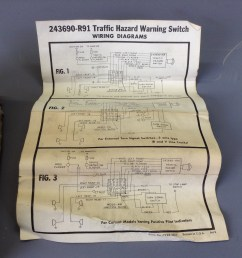 nos scout 80 800 truck travelall 4 way flasher kit [ 1936 x 1936 Pixel ]