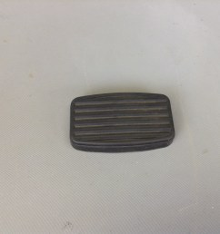 clutch brake pedal pad for 1961 71 scout 80 800 800a 800b [ 1936 x 1936 Pixel ]