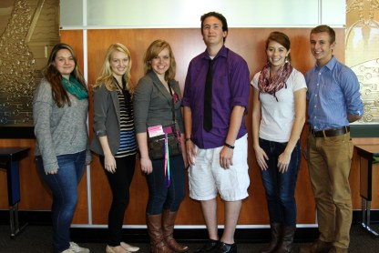 Student elected to serve on the IHSPA executive board for 2013-2014 include: Michelle Roberts, Greenwood; Ashley Shuler, Ben Davis; Lauren Lecy, Chesterton; Mark Tague, Carmel; Carley Lanich, Lawrence Central; and Nick Jordan, Portage. Shuler, Lacy and Tague will be serving their second year on the board.