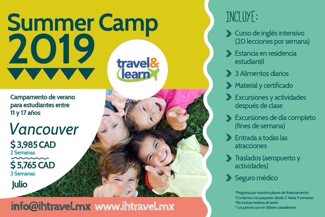 summer camp Vancouver 2019