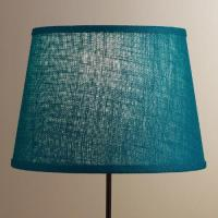 Everglade Burlap Table Lamp Shade | World Market