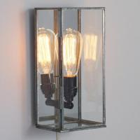 Glass Rectangle Nora Wall Sconce | World Market