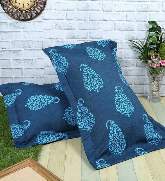 100 cotton 200tc 27x17 inch pillow cover set