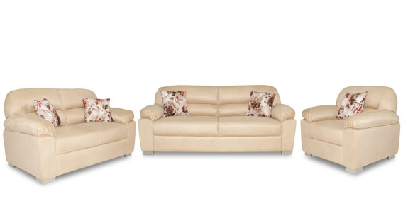 the living room mattress abu dhabi 5th wheel with in front buy sofa set 3s 2s 1s beige colour by urban