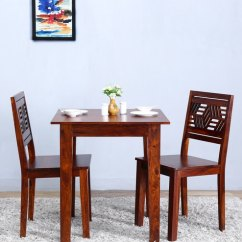 2 Seater Kitchen Table Set Pig Buy Alder Two Dining In Honey Oak Finish By Woodsworth Online Sets Pepperfry