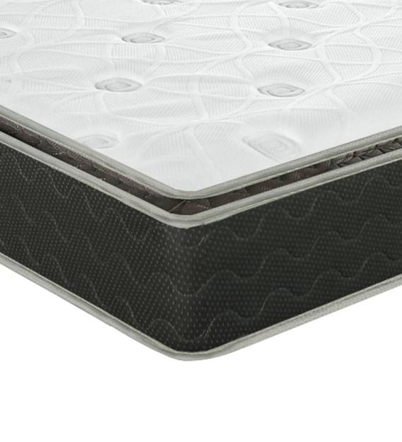 altus p pillow top 8 inches king size pocket spring pu foam mattress