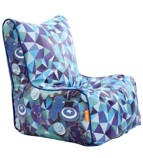 avengers bean bag chair white side buy marvel kids cover in multicolour by orka online covers furniture pepperfry
