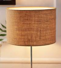 Buy Beige Jute and Stiffener Lamp Shade by New Era Online ...