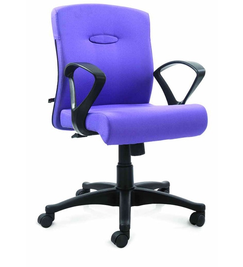 revolving chair gst rate 8 dining table bravo mid back in blue colour by godrej interio we are sorry but this item is out of stock
