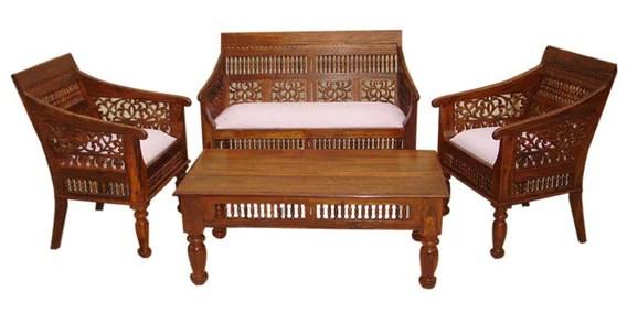 sofa sets in hyderabad online teal coloured corner sofas carved set by wood dekor - ...