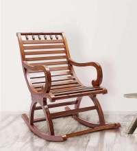 Buy Chelmsford Teak Wood Rocking Chair in Composite Teak ...
