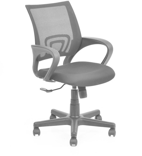 revolving chair for office costco deck chairs buy concept ergonomic in black colour by nilkamal online furniture pepperfry product