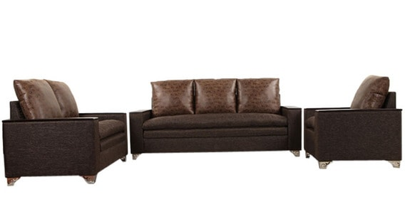 dalton sofa bed ivory leather sleeper buy set 3 2 1 seater in brown colour by arra online sets sofas pepperfry
