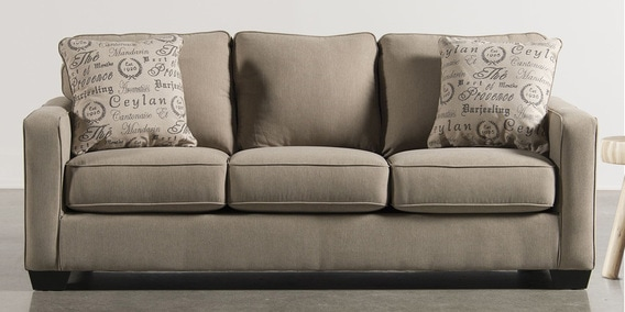 color sofa recliners microfiber buy divan three seater in beige by planet decor online sofas furniture pepperfry product