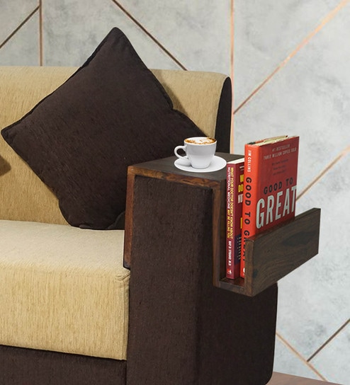 sofa arm brown leather living room decor buy douglas table in finish sheesham wood by muebles casa online magazine racks furniture pepperfry product