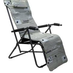 Folding Chair With Cushion Potty Chairs For Special Needs Buy Easy In Grey Colour By Eros Online Pepperfry