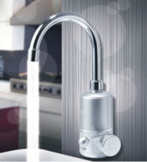 instant water heater kitchen sink build a island buy egon silver abs tap online sinks taps bath laundry pepperfry product