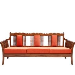 Colonial Sofa Sets Cheap For Sale Under 100 Buy Exeter Teak Wood Set 1 Seater 3 In Natural Finish By Amberville Online Sofas Pepperfry