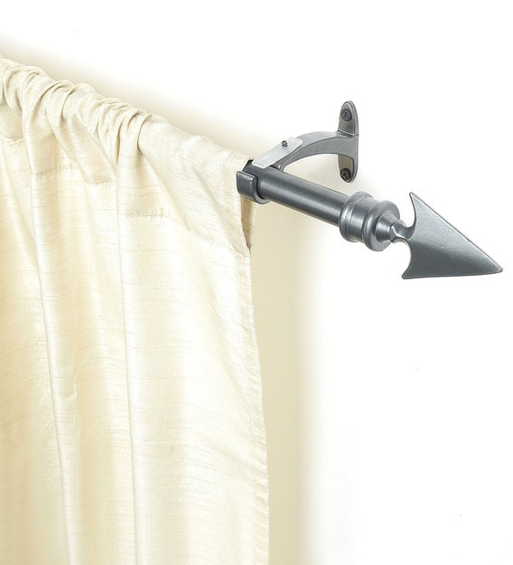 extendable curtain rod 36