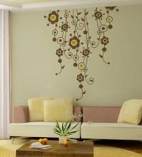 Wall Art Decor Floral Vines Wall Sticker by Wall Art Decor ...
