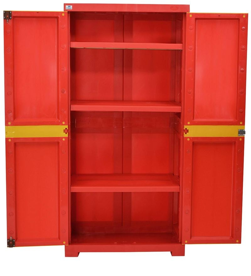 sofa bed living room sets southwest ideas buy freedom mini medium storage cabinet in red & yellow ...