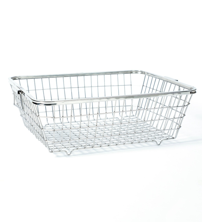 kitchen basket floor tile buy furntec steel online baskets click to zoom in out