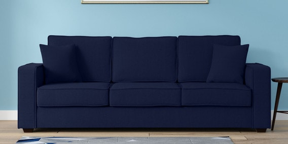 5 seater sofa set under 20000 axis crate and barrel buy wooden sets online at best price pepperfry hugo three in navy blue colour