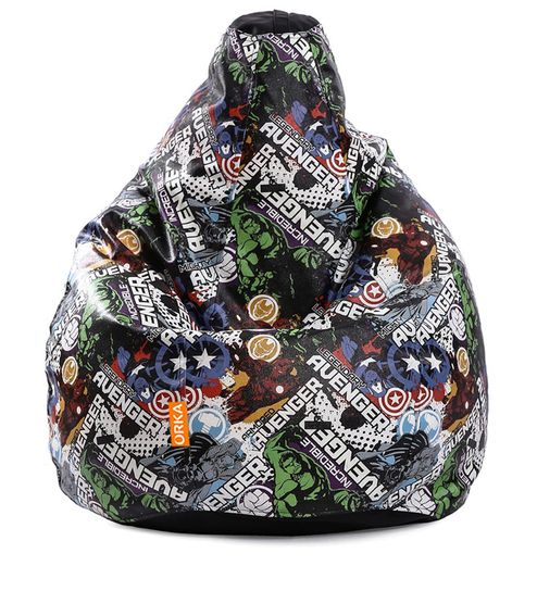 avengers bean bag chair all purpose salon chairs reclining buy incredible cover by orka online kids covers bags pepperfry